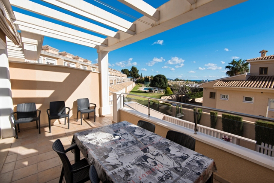 Townhouse with 4 bedrooms in Calpe.